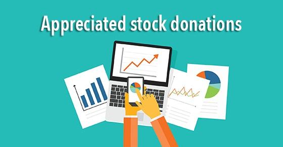 appreciated stock donations