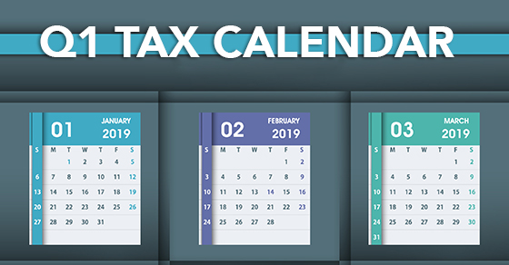 tax calendar deadlines